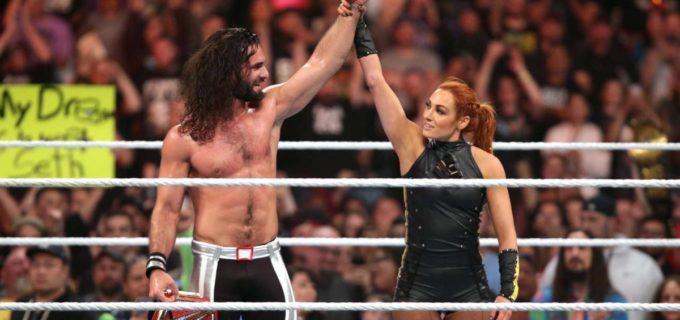 【WWE】ベッキーの救援でロリンズが王座防衛に成功!