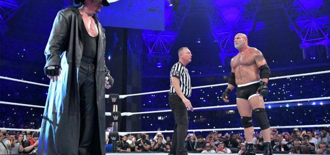【WWE】アンダーテイカー、ゴールドバーグとの初対決を制す