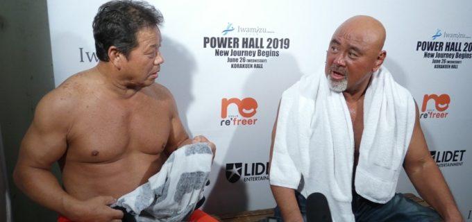 【長州力引退】武藤「10カウントしてなかったですよね?また復帰するんじゃないですか」藤波「俺もそう思った」