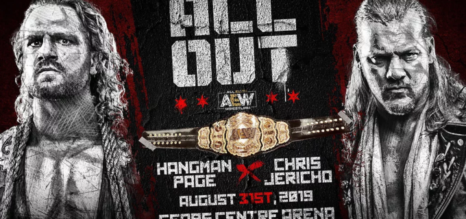 【AEW】8.31 オール・アウトの対戦カードを発表!初代AEW世界王座決定戦にクリス・ジェリコvsハングマン・ペイジ、モクスリーvsケニーも実現