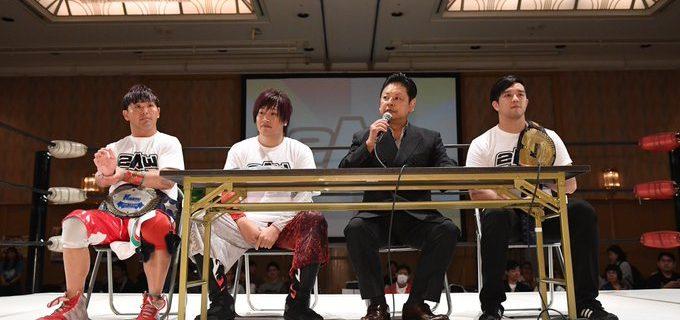 【2AW】シングル&タッグベルトの新設を発表!
