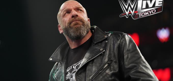 【WWE】日本公演「WWE Live Tokyo」6.28両国国技館にトリプルHの参戦決定!!