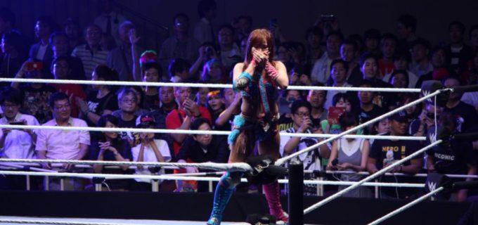 【WWE Live TOKYO】アスカ、カイリ・セインのカブキ・ウォリアーズが現チャンピオンのジ・アイコニックス組に凱旋の両国国技館で勝利!WWE女子タッグ王座への挑戦権を獲得