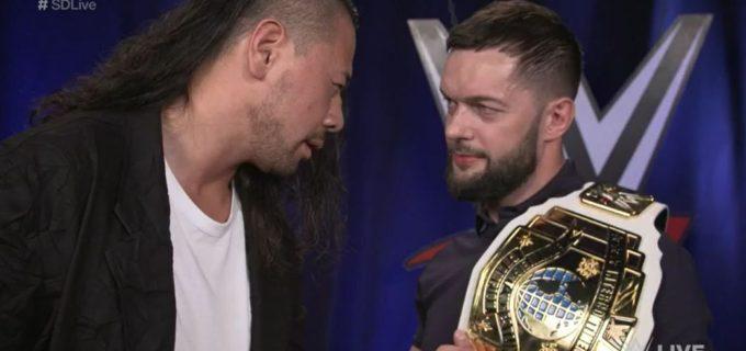 【WWE】IC王者ベイラーへの「次の相手は?」の質問に中邑登場!