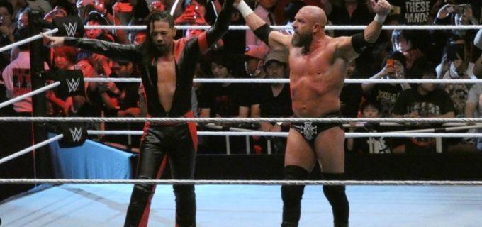 【WWE日本公演】「WWE Live Tokyo」<全試合結果>中邑、トリプルHとのタッグで快勝!カブキ・ウォリアーズ連勝!(6.29両国大会)