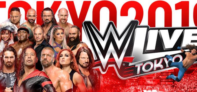 【WWE】6.28 WWE Live TOKYO 初日の全対戦カードと見所 ユニバーサル王座にロリンズvs中邑、8人タッグにトリプルH、AJスタイルズ、US王座のリコシェが凱旋、アスカ&カイリはWWE女子タッグ王座への挑戦権を手にできるか?