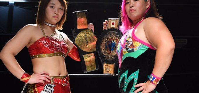 【仙女】~女子プロレスBIG SHOW in 新潟~ダブルタイトルマッチに挑む橋本&Sareee両王者がコメント発表