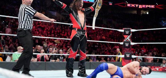 【WWE】中邑真輔がベイラー破ってIC王座を戴冠「俺の方がフィンよりベターな王者になる」