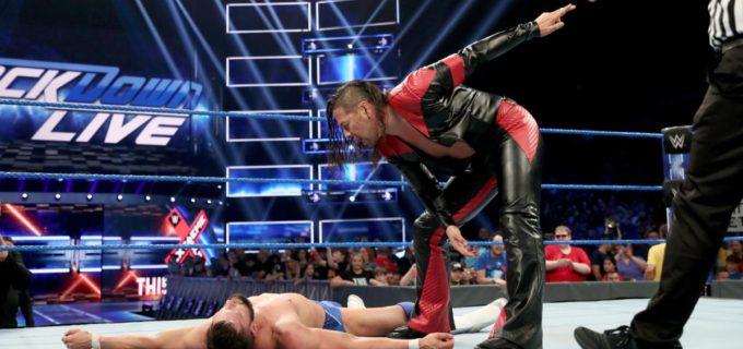【WWE】中邑がIC王者ベイラー破り、王座戦へ価値ある勝利