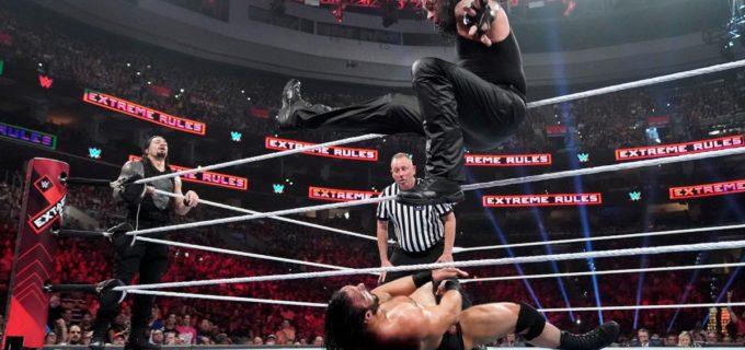 【WWE】アンダーテイカー&レインズがノー・ホールズ・バート戦制す
