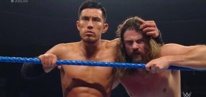 【WWE】戸澤陽、シン・ブラザーズ蹴散らして盟友ケンドリックを救済