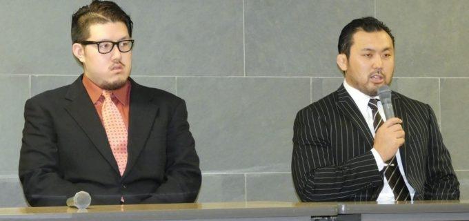 【DDT】鈴木秀樹が納谷幸男に厳しい発言を連発!「彼はバックボーンがなければおそらくこのような会見の場に立つようなキャリアの選手じゃない」<7.9会見>