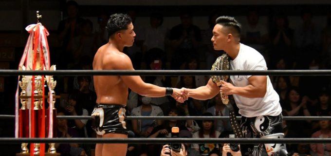 【W-1】稲葉大樹が『WRESTLE-1 GRAND PRIX 2019』優勝!9.1(日)横浜文化体育館大会でT-Hawkのベルトへ挑戦!「僕がファンの時にプロレスに元気をもらったので、今度はファンの人に元気をあげられるようにがんばります」