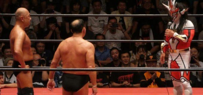 【ZERO1】大谷、高岩がライガー、サスケとの場内大熱狂のスペシャルタッグマッチに勝利!ライガー「1月4、5日の引退まで何度でもお前たちとやってやる」
