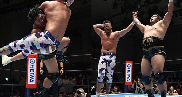 【新日本】<Bブロック公式戦!>コブはジュースを破って、初白星ゲット!☆7.19後楽園大会