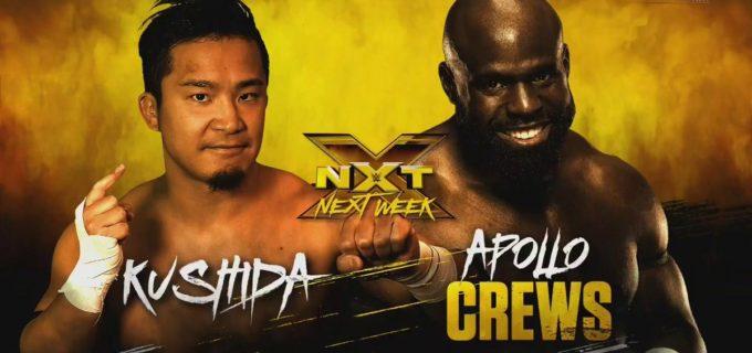 【WWE】KUSHIDAとアポロ・クルーズの対戦が決定
