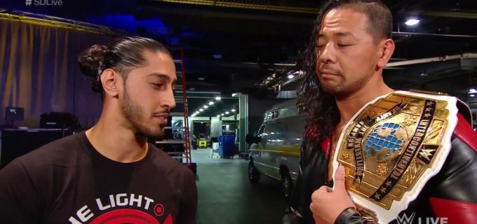 【WWE】新IC王者中邑の前に挑戦者出現か!?