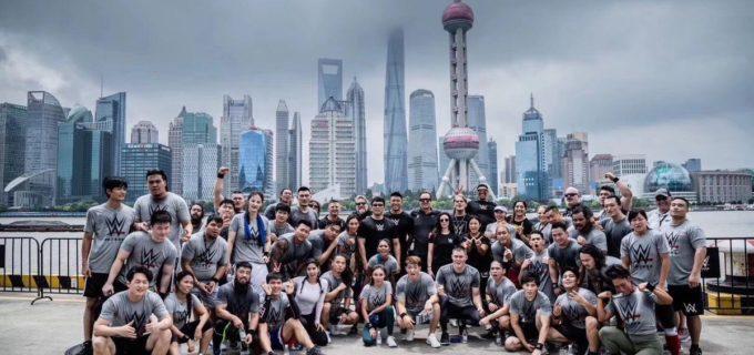 黒潮イケメン二郎が上海でWWEのトライアウトに参加