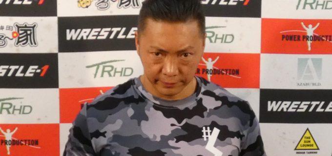 【W-1】#STRONGHEARTS  CIMAインタビュー「回転寿司藤村にでもしますか?」加偉の対戦要求にCIMAが返答!