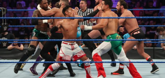 【WWE】戸澤は脱落も、チーム・ローカンが王者チームに勝利