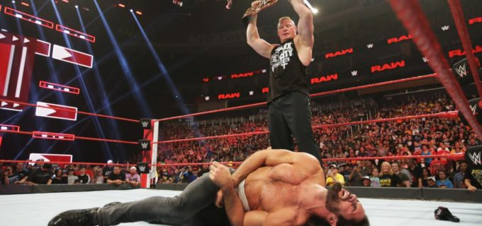 【WWE】レスナーが再びロリンズをF5葬