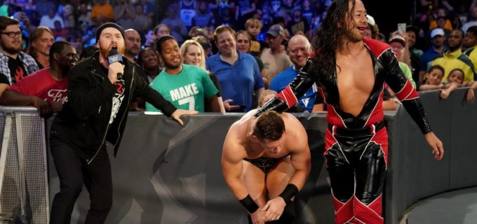 【WWE】中邑、王座挑戦を宣言したミズにキンシャサ2発