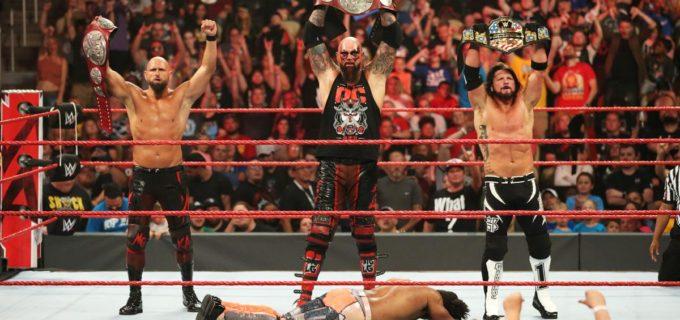 【WWE】AJスタイルズが前哨タッグ戦でリコシェに勝利