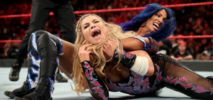 【WWE】サーシャが因縁のナタリアを破って復帰戦勝利!