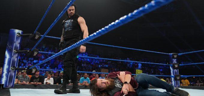 【WWE】レインズ、無実を主張するブライアンにスピアー