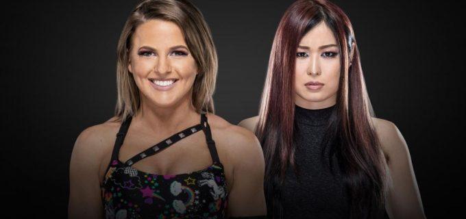 【WWE】紫雷イオとキャンディス・レラエの対戦が「NXTテイクオーバー: トロント」で決定!