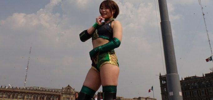 本間多恵が9.15(日)CMLLレディースリングに参戦!マルセラ、ダリスとの対戦を熱望!