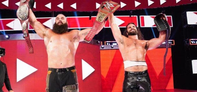 【WWE】ロリンズ&ストローマンが新ロウタッグ王者に!