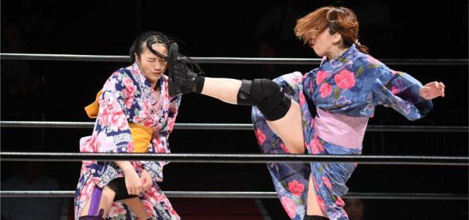 【WAVE】浴衣4waveで浴衣脱がしでHIRO'eが桜花に勝利!HIRO'e「お前のなんか見たくないから」桜花「需要はあるんだよ!」