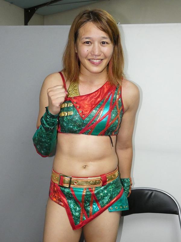 "Syuri Produce: ""Tadaima"" Syuri regresó a la lucha libre 8"