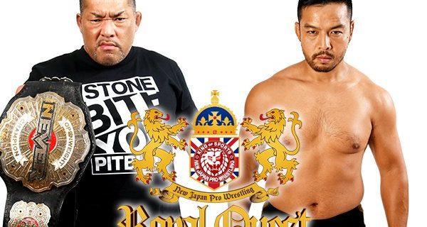 【新日本】<8.31ロンドン大会の全カード決定!>裏切りのKENTAはNEVER王者・石井に挑戦!