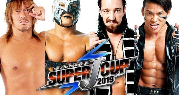 【新日本】<『SUPER J-CUP』決勝戦、8.25ロス大会の全カード決定!>セミファイナルで内藤&BUSHIが、ジェイ&石森とタッグ対決!