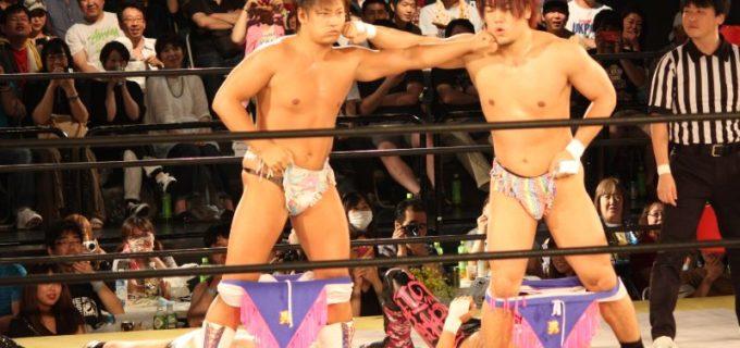 【DDT】ディーノが4人?上野勇希と男色ディーノがMAO・渡瀬瑞基と入れ替わり?~ビアガーデンプロレス最終日~