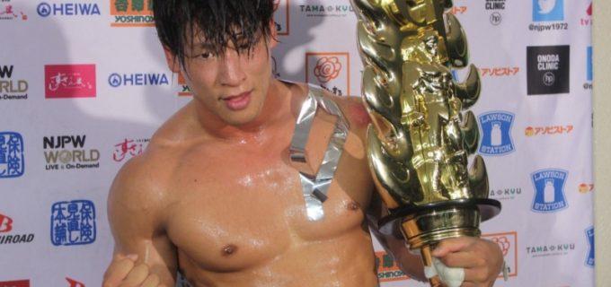【新日本】G1 CLIMAX初優勝の飯伏幸太が来年1・4、1・5WドームでIWGPヘビー&IWGPインターコンチネンタルに連続挑戦表明!(一夜明け会見)
