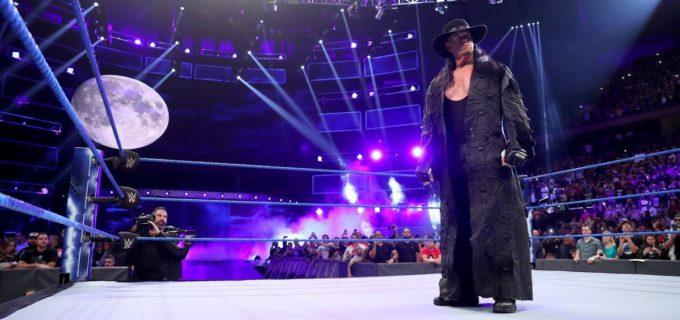 【WWE】アンダーテイカー、大胆不敵なゼインをチョークスラム葬