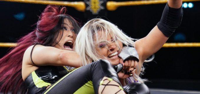 【WWE】紫雷イオ、4ウェイ戦で王座挑戦権獲得ならず
