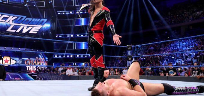【WWE】中邑、PPVを前にミズを襲撃してキンシャサ弾