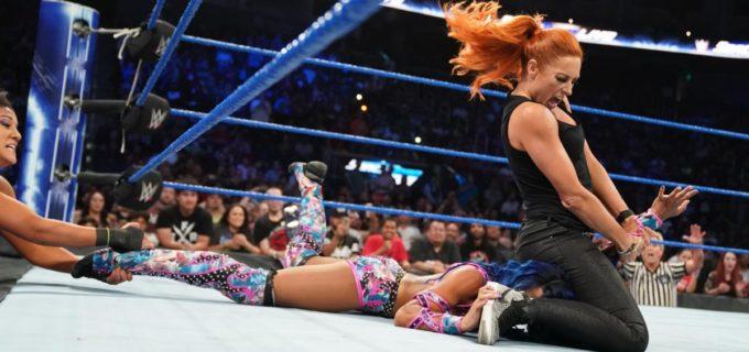 【WWE】王者ベッキーとサーシャが襲撃合戦で対立激化