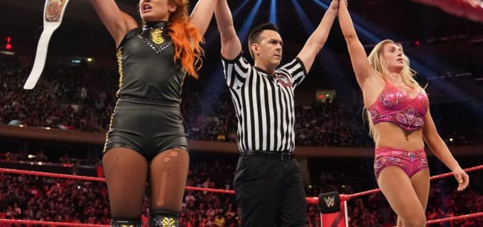 【WWE】ベッキー&シャーロットは前哨タッグ戦を制して王座戦へ弾み