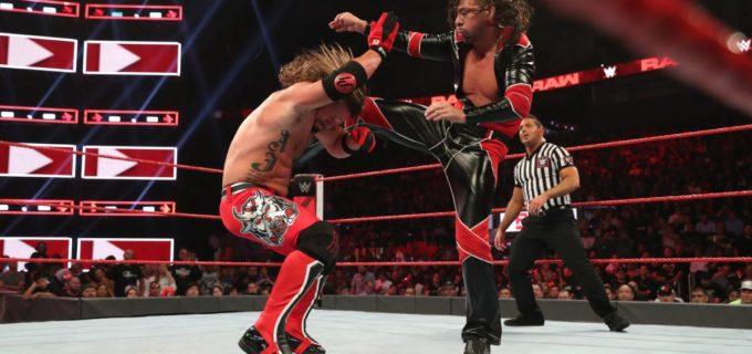 【WWE】中邑、5ウェイ・エリミネーション戦でのユニバーサル王座挑戦権獲得ならず