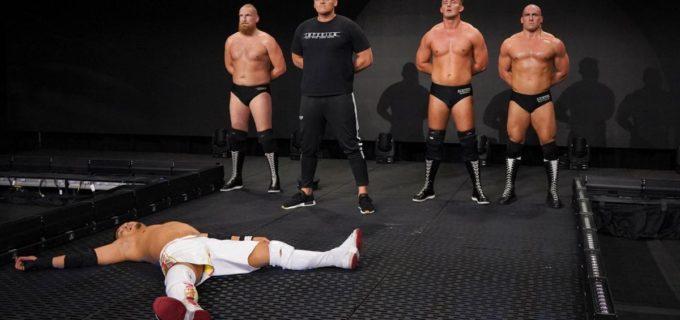 【WWE】KUSHIDA勝利もウォルターが襲撃KO