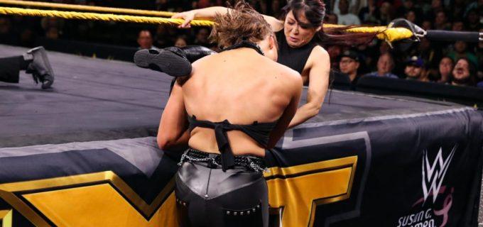 【WWE】紫雷イオが因縁のリアとキャンディスに報復誓う