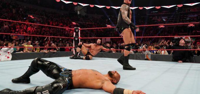【WWE】乱入したオートンがリコシェにRKO!勢いづくチーム・フレアー!