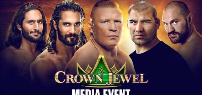 【WWE】30日17:00~ PPV「クラウン・ジュエル」記者会見のライブ配信