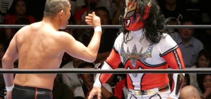 【新日本】怒りのライガーが反則負け!鈴木「おい山田、お前のレスラー人生これで終わっていいのか!」ライガー「両国の試合は試合じゃねーぞ!殺し合いだ!」