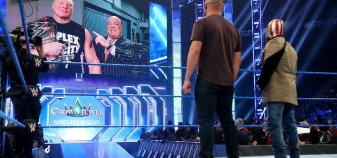 【WWE】レスナー、ヴェラスケスとミステリオに卑怯なF5葬